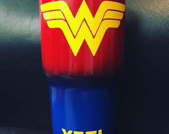 Wonder Woman Yeti stainless steel cup