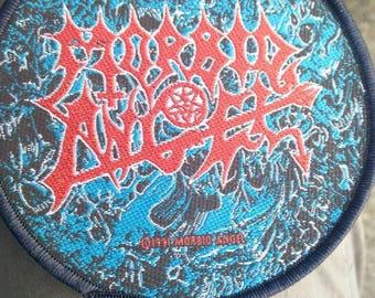 Morbid angel 1991 , Round patch, Original, Official!! Vintage .