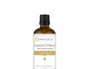 Grounding Essential Oil Blend 100% Pure 10ml 50ml 100ml