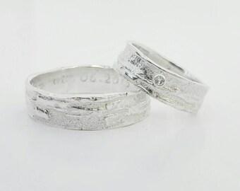 MADEIRA wedding rings silver/Silver Weddingrings