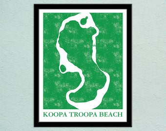 Fallout 4 the commonwealth map print gamer christmas present mario kart 64 koopa troopa beach track map poster super mario kart map print gumiabroncs Gallery