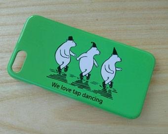 iPhone  case Polar bears tapdancing