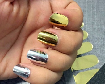 Chrome Nail Polish Wraps