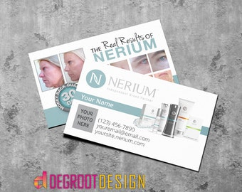 Nerium International Personalized Business Cards
