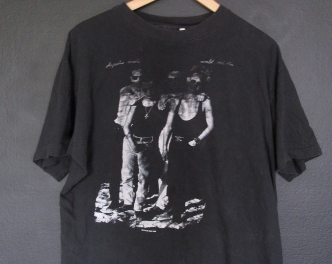 Depeche Mode World Violation 1990 vintage Tshirt