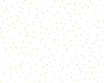 1/2 yd Sew Cherry 2 Pin Dot Fabric by Lori Holt for Riley Blake C5807 Green