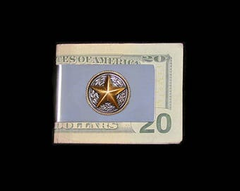 Texas Star Money Clip