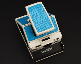 Polaroid SX-70 Model 2 Replacement Cover - Laser Cut PU Leather - Lizard Texture