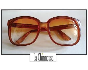 Vintage OVERSIZE EMANUELLE KHANH Sunglasses / Emmanuelle Khanh sunglasses / Emmanuelle Khanh Paris / Collectibles / Gift for her.