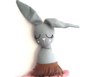 Hand Made Linen Bunny
