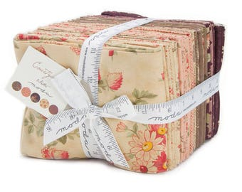 Moda COURTYARD 37 Fat Quarter Bundle 44120AB Quilt Fabric By 3 Sisters