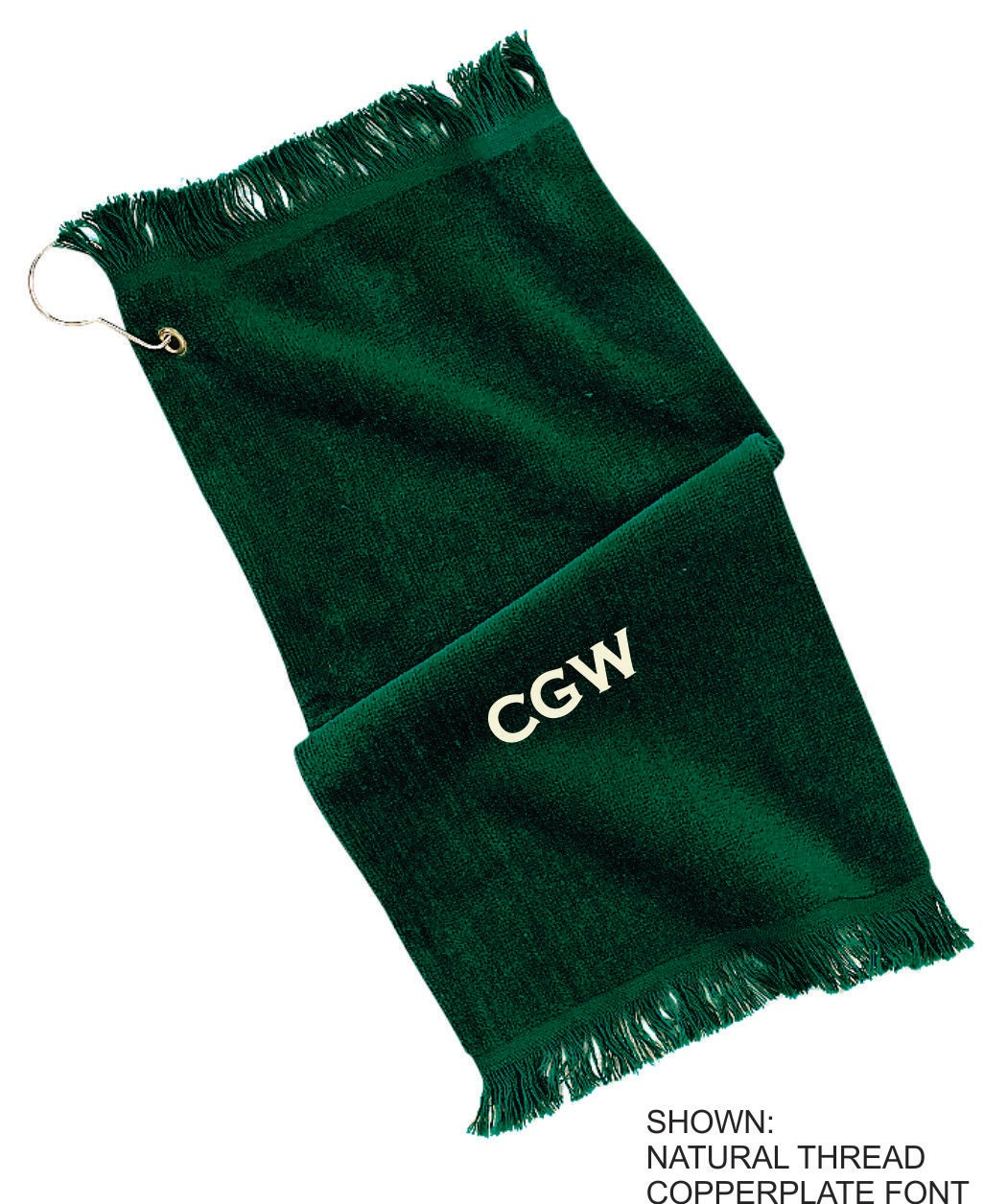 Personalized Grommet Towel Custom Golf Towel Monogrammed