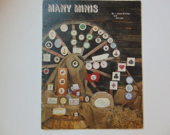 Many Minis Cross Stitch Anne Brinkley
