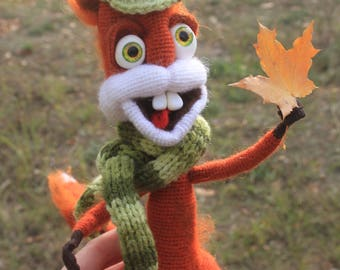 Freaky squirrel