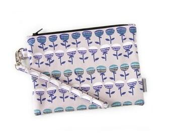 Wristlet, Zipper Pouch, Clutch Bag, Clutch Pouch, Pencil Case, Lunch Bag, Wrist Strap