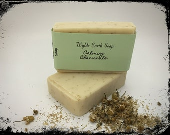 Chamomile Cold Process Botanical Soap Handmade