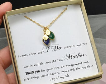 mother of the bride gift,Mother in law gift , mother in law wedding gift ,mother of the groom gift ,mother daughter NECKLACE , wedding gift