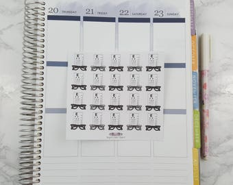 Eyeglass Stickers for all Planners
