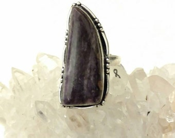 Charoite Ring, Size 8