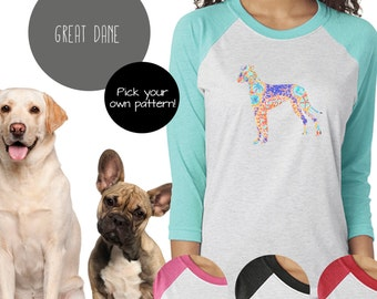 Great Dane Raglan