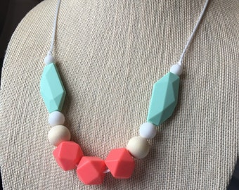 Thea Tropics Silicone Teething Necklace