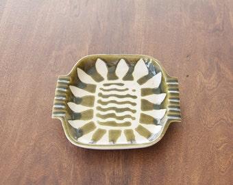 Mid century Baldelli Ashtray Ceramics Pottery