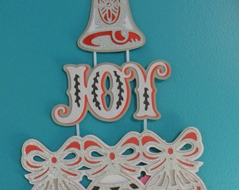 Joy Christmas Wall Hanger