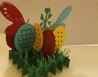 Easter Pop Up Greeting Card