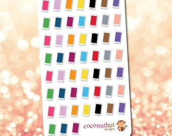 Cell Phone / Mobile Phone Planner Stickers