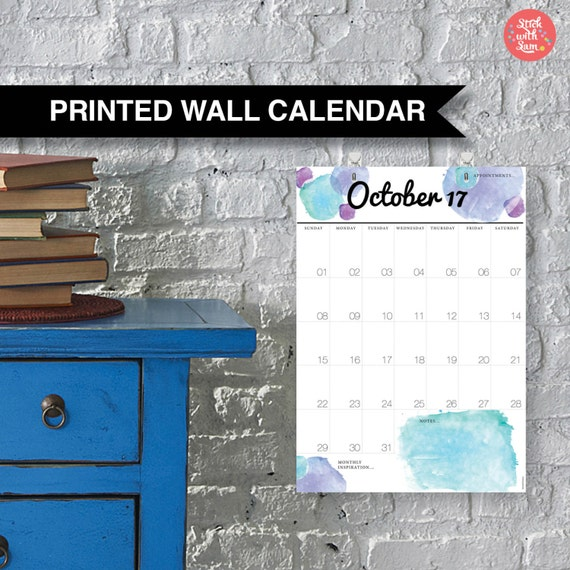 Hanging Planner Calendar : Wall family calendar large a yearly planner