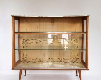 Vintage Art Deco display cabinet