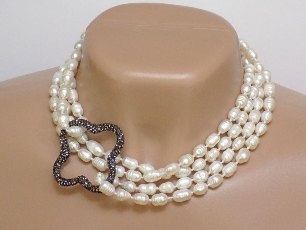jewelry for pearl necklace for white necklace 3222