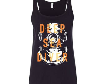 Tank top KOMOA Deep sea diver BLACK