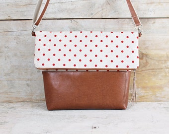 Foldover bag DAISY LOU
