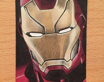 Iron Man Sketchcard