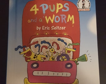 Dr Suess 4 Pups And A Worm
