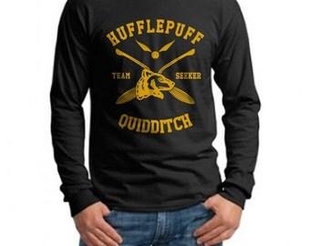 SEEKER - Huffle Quidditch team Seeker on Longsleeve MEN tee