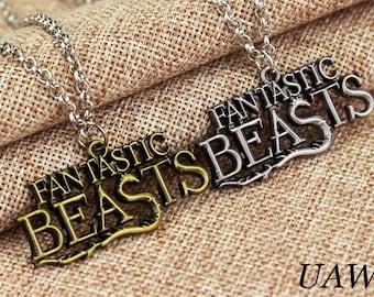 Fantastic Beasts Necklace, Fantastic Beasts  pendant, Necklace Fantastic Beasts, Film Inspired Pendant,Fantastic Beasts jewerly, pendant