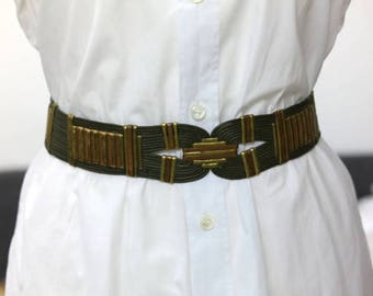 Belt vintage metal - craftsmanship