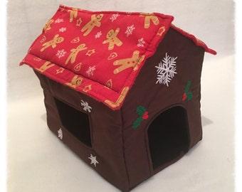 Gingerbread House design - Hammocks for Rats Ferrets Chinchilla Gerbil Degu