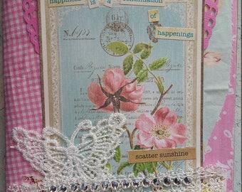 HandMade Girly Journal/Diary