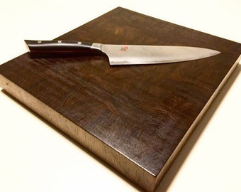 Walnut End Grain Cutting Board/Chopping Block