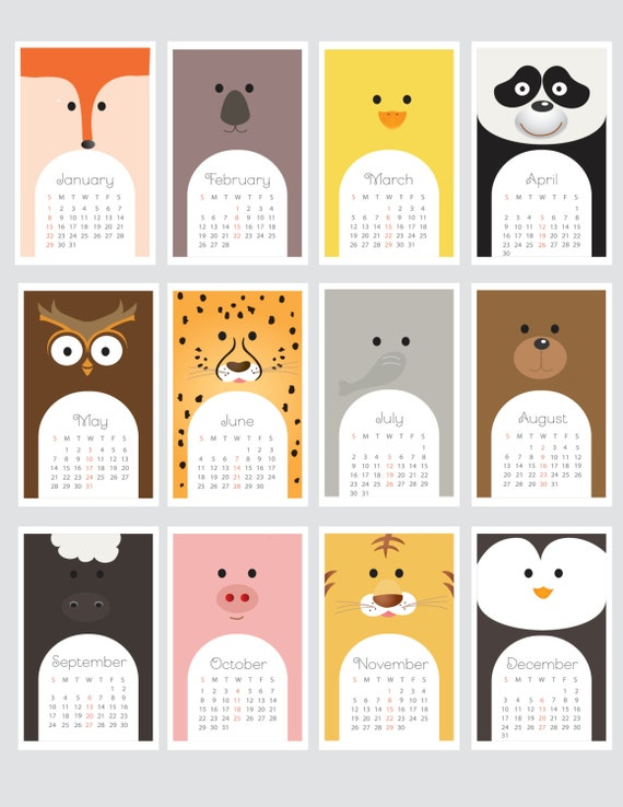 Calendar Ideas Y : Calendar download nursery