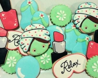 Spa cookies
