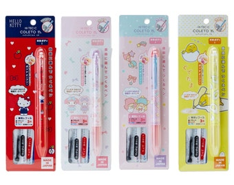 Coleto Sanrio Pen Holders with Three Refills