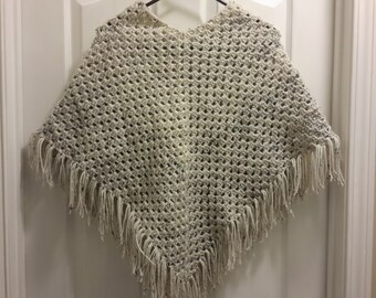 Woman's poncho size medium to large