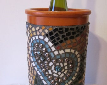 Mosaic Wine Cozy - Utensil Holder