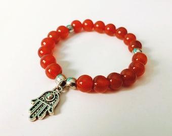 Bracelet carnelian Stone