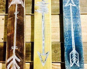 Multi-Colored Arrow Trio Wall Decor