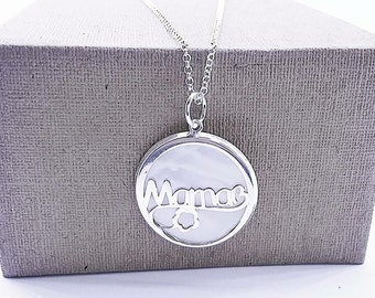 """Necklace Mother's Day Edition """"Mom"""""""